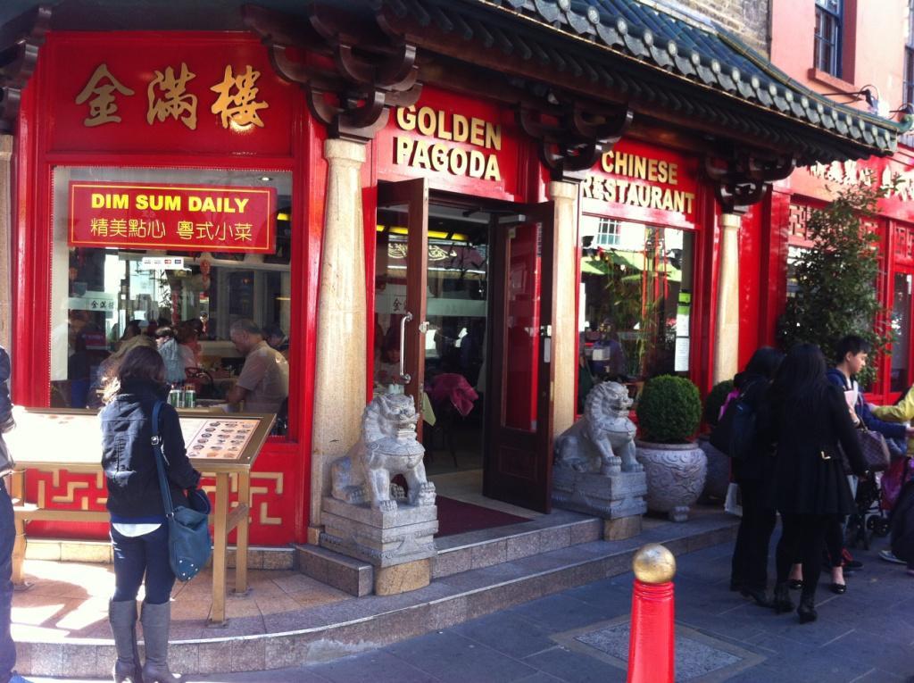 Golden Pagoda outisde